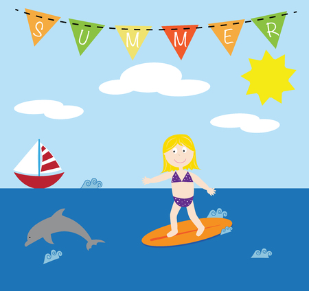 enfant maillot de bain: Summer Surf