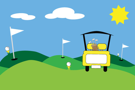 Yellow Scene Golfen