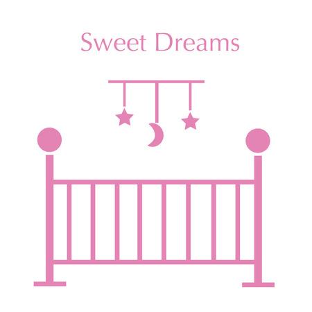 Sweet Dreams rosa Archivio Fotografico - 60160396