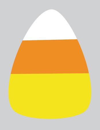 yum: Isolated Candy Corn Illustration