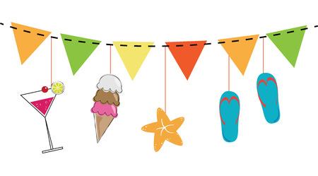 treats: Summer Treats Vectores