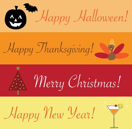 holiday: Holiday Time Illustration