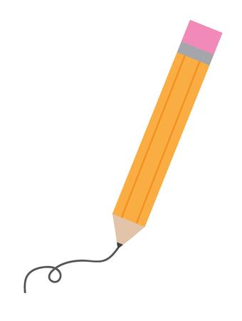 Writing Pencil Illustration