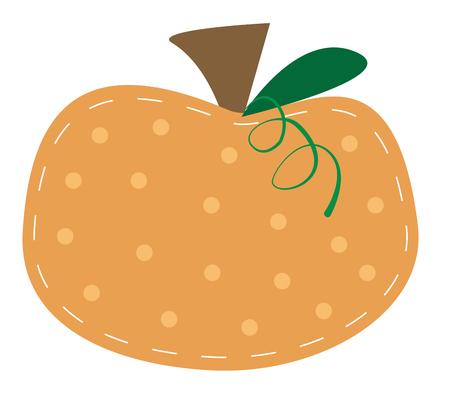 polkadot: Cute Pumpkin