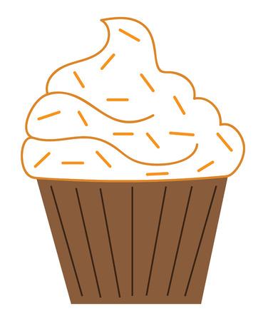 pumpkin pie: Pumpkin Pie Spice Cupcake