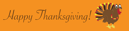 Happy Thanksgiving Turkey 向量圖像
