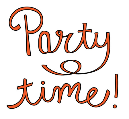 party time: Party Time Illustration