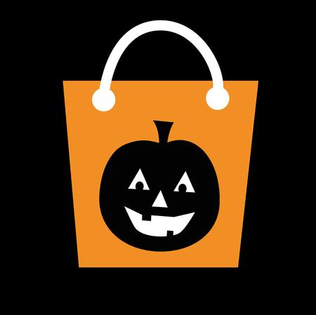 loot: Pumpkin Halloween Candy Bag