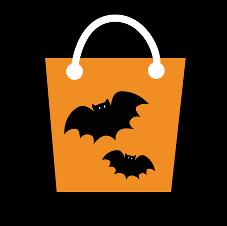 loot: Halloween Candy Bag Illustration