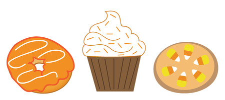 Fall Treats Illustration