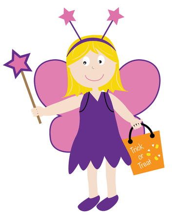goodie: Trick or Treat Fairy Illustration