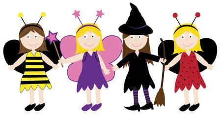 headband: Halloween Costumes Illustration