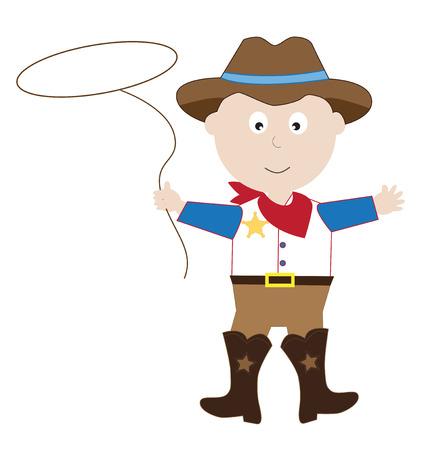31st: Cowboy Illustration