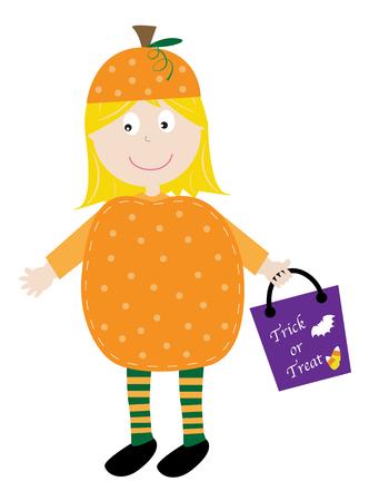 loot: Pumpkin Girl