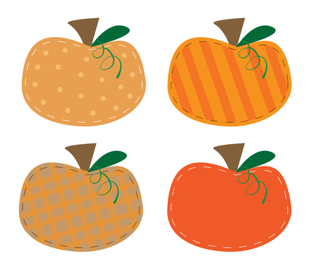 polkadot: Pumpkins Illustration