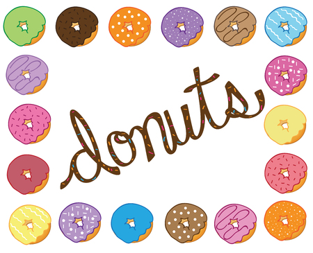 Donuts Illustration