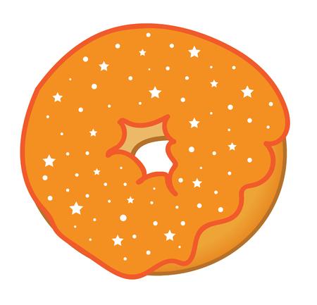 Orange Donut