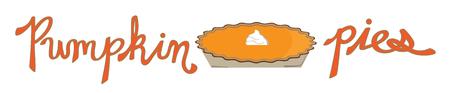 Pumpkin Pies Banque d'images - 63671589