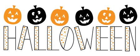 polkadot: Halloween Pumpkins