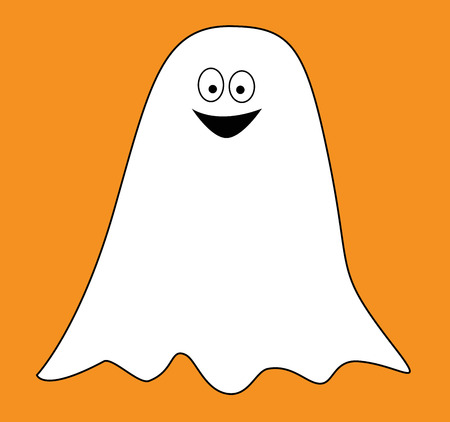 hilarious: Ghost Illustration