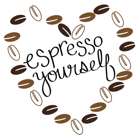 yourself: Espresso Yourself Illustration