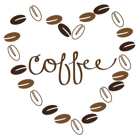 Kaffeebohnen Standard-Bild - 63671999