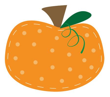 polkadot: Pumpkin Illustration