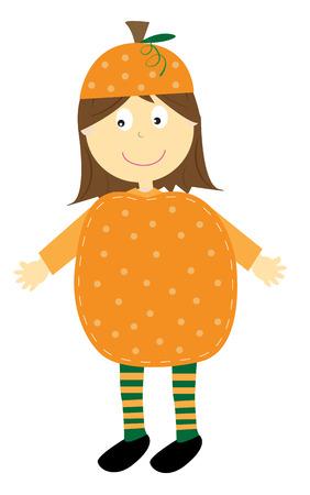 october 31: Pumpkin Costume