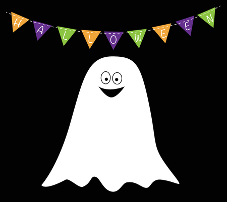 Espíritu de Halloween Ilustración de vector