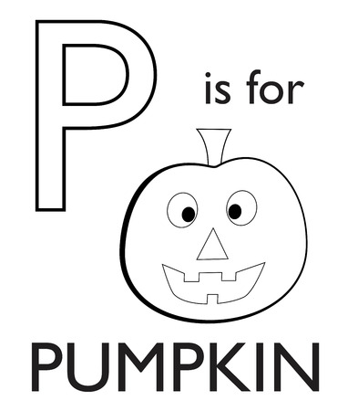 harvest time: P is for Pumpkin