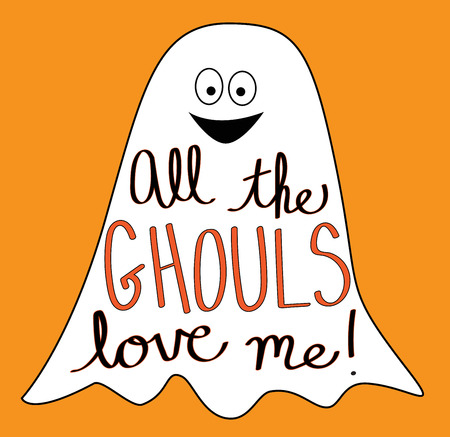 ghouls: All The Ghouls Love Me Illustration