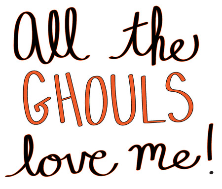 All The Ghouls Love Me Illustration