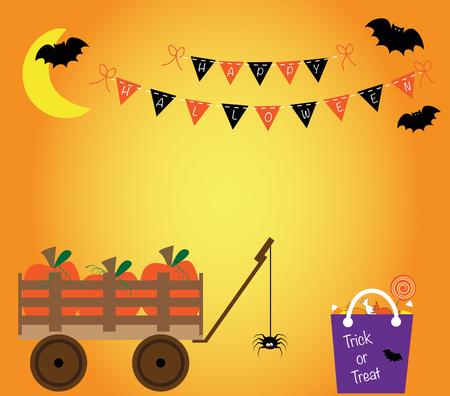 Halloween Illusztráció