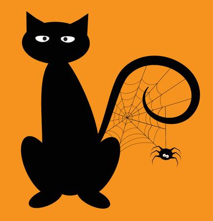 Halloween-Katze