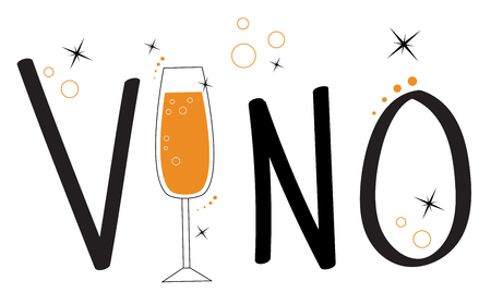 vino: Vino Illustration
