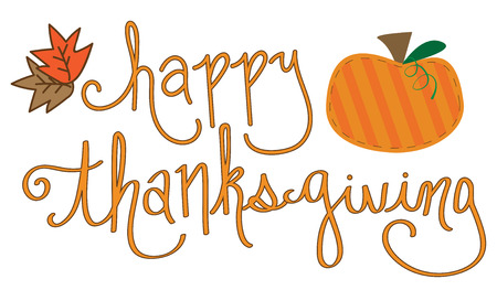 Happy Thanksgiving Illustration
