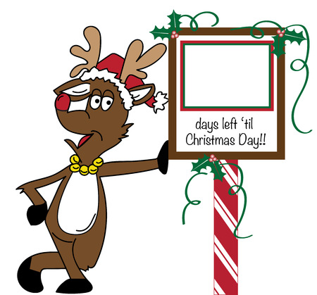 Christmas Reindeer Banco de Imagens - 66982015