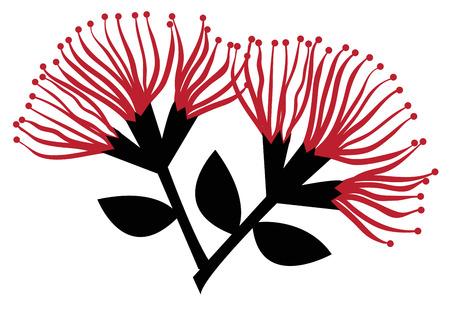 ポフツカワの花  イラスト・ベクター素材