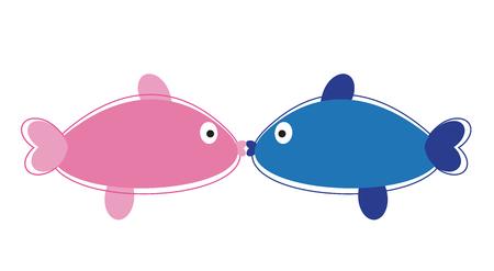 kissing: Kissing Fish