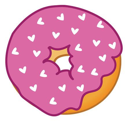 Heart Donut 向量圖像