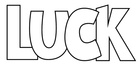 white day: Luck Coloring Page