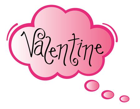 Valentine Speech Bubble