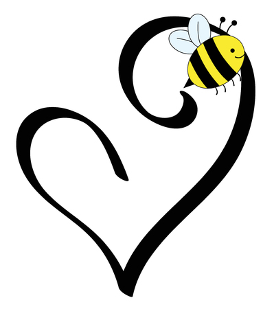 Love Heart Bee
