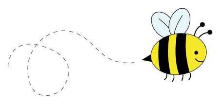 Buzzy Bee Illusztráció