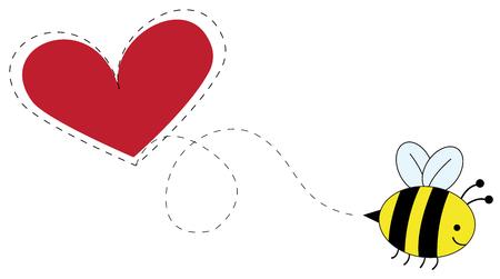 Love Bee Illusztráció