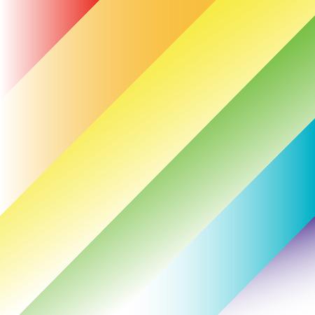 Rainbow Background Illustration