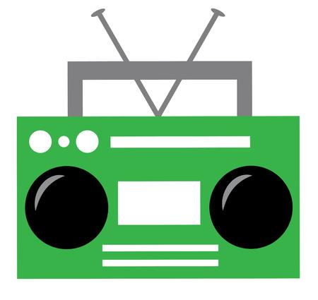 Green Boombox