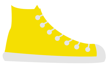 Yellow Shoe Иллюстрация