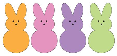 Los conejos de Pascua
