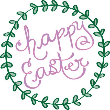Happy Easter Ilustracja